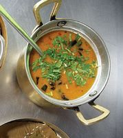 Gujarati Sweet and Sour Lentils
