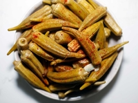 Spicy Pickled Okra