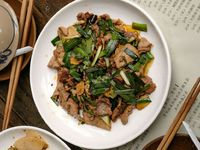 Homestyle Stir-Fried Pork with Garlic Chives (Xiao Chao Rou)