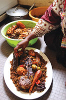 Senegalese Fish and Rice (Thiéboudienne)