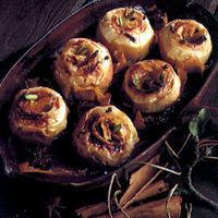 Baked Apples with Calvados