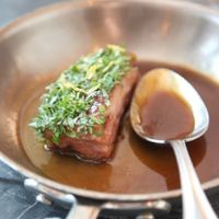 Braised Lamb Blade Chops with Herbs