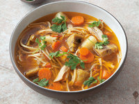 Chicken and Root Vegetable Soup (Sancocho)