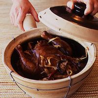 Hongzao Chiang Chi (Braised Ginger Chicken)