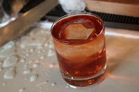 The Courting Rachel (Smoked Old Fashioned)