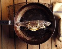 Roasted Rainbow Trout with Lemon and Thyme