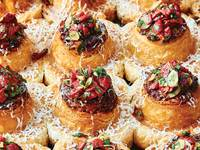 Piquillo Pepper and Almond Morning Buns