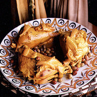 Chicken with Preserved Lemon and Green Olives