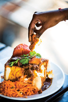 Indian Lamb Curry in a Bread Bowl (Bunny Chow)