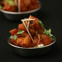 Indian-Chinese Sweet and Spicy Fried Cauliflower