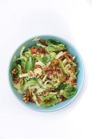 Waldorf-Style Brussels Sprout Salad with Guanciale