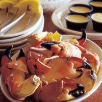 Steamed Stone Crab Claws with Melted Butter