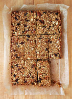 Chewy Fruit and Nut Granola Bars