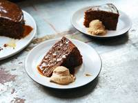 Sticky Toffee Pudding with Dates