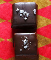 Chocolate and Peanut Butter Nougat Squares
