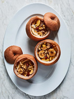 Steamed Korean Pears with Ginger, Dates, and Honey