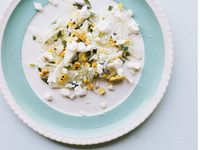 Shaved Fennel and Grilled Corn Salad