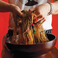 Korean Noodles with Beef and Vegetables (Chap Chae)