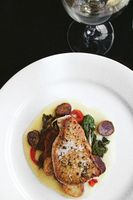 Seared Swordfish with Herb Butter