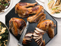 Slow-Smoked and Spice-Brined Turkey