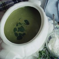 Sorrel and Watercress Soup