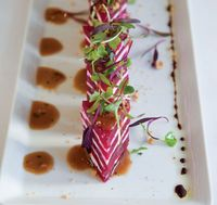 Beet and Goat Cheese Napoleons
