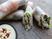 Summer Roll with Dipping Sauce (Gỏi Cuon Sot Tuong)