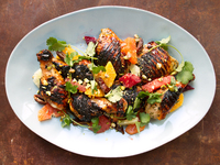Honey Grilled Chicken with Citrus Salad