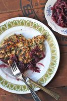 Grilled Chicken with Red Onion Jam