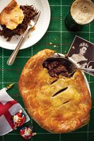 Beef Cheek and Stout Pie with Stilton Pastry