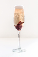 Blooming Champagne Cocktail