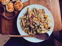 Pasta Salad with Buttermilk Dressing