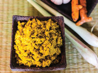 Khmer Yellow Curry Paste (Kroeung)
