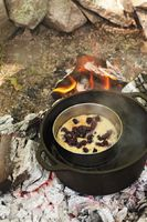 Wild Blueberry Steamed Pudding