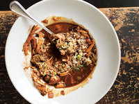 Fried Chicken and Andouille Gumbo