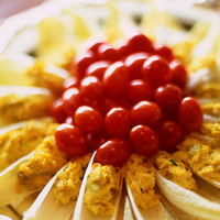 Belgian Endive Spears with Curried Crab Salad