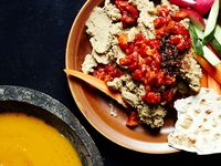 Black-Eyed Pea Hummus with West African Chile Paste