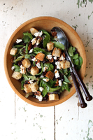 Mesclun Salad with Goat Cheese and Balsamic Vinaigrette