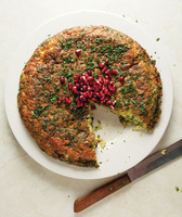 Leek and Herb Frittata (Kuku Sabzi)