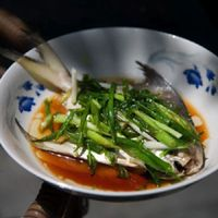 Chinese Steamed Fish with Scallions
