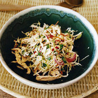 Spicy Cabbage and Chicken Salad