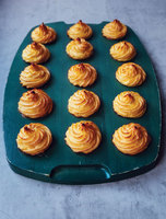 Pommes Duchesse (French Piped Potatoes)