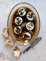 Olive Oil–Marinated Goat Cheese