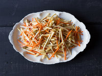 Apple, Celery Root, and Carrot Salad
