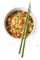 Bacon and Shrimp Fried Rice