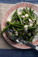 Green Bean Salad with Feta and Mint