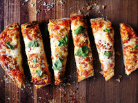 Easiest Pizza Ever (Loaf Bread Pizza)