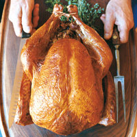Roast Turkey with Madeira Truffle Butter
