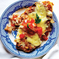 Molletes (Mexican Bean and Cheese Sandwiches)