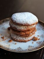 German Fruit and Spice Cookies (Lebkuchen)